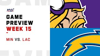 Minnesota Vikings vs Los Angeles Chargers Week 15 NFL Game Preview
