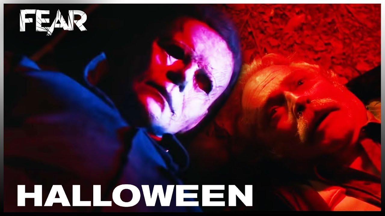 Halloween 2020 Head Stomp Gif Michael Head Stomps Dr. Sartain | Halloween (2018)   YouTube