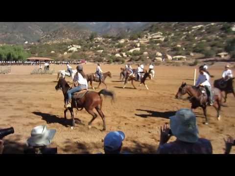 Thacher School Parent's Weekend horse routine 2017