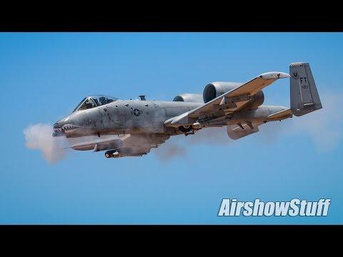 Hawgsmoke 2016 - A-10s Working The Gunnery Range