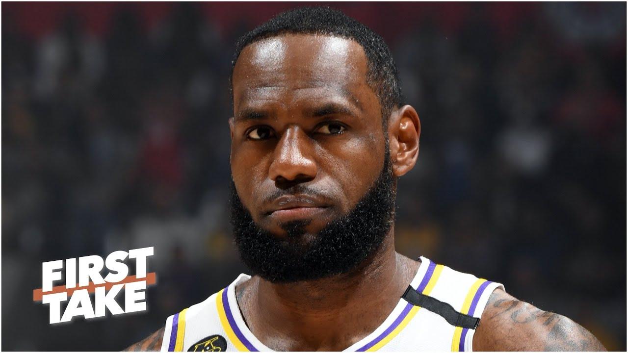 LeBron ranks 1st on First Take's Primetime Players list
