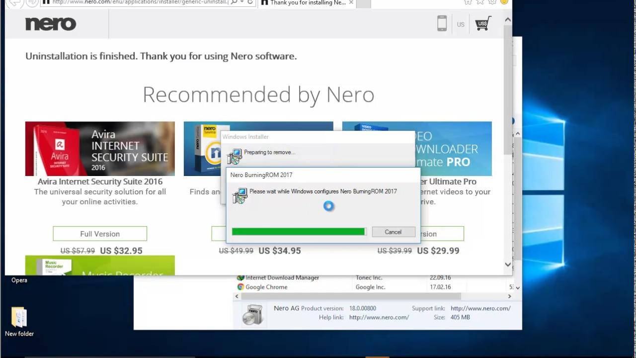 nero burning rom 2016 free download full version for windows 10