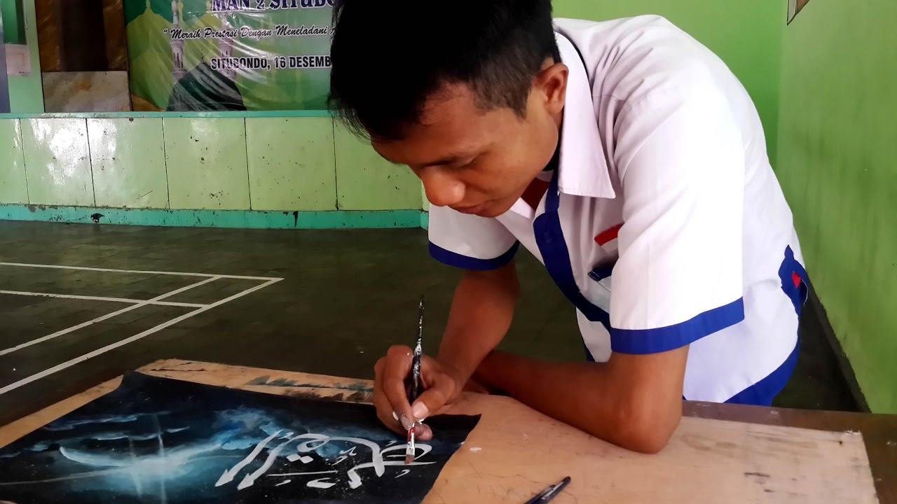 Belajar Kaligrafi Kontemporer Khat Tsulus Www Senibenni Com