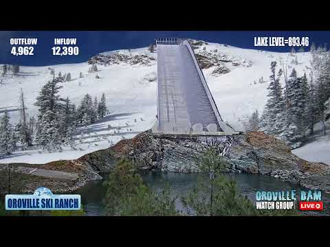 Oroville Dam Watch Group Live Stream
