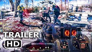 PS4 - Fallout 76 Nukes Gameplay Trailer (2018)