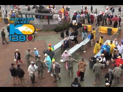 Kentucky Derby 139 - The Excitement Starts Early