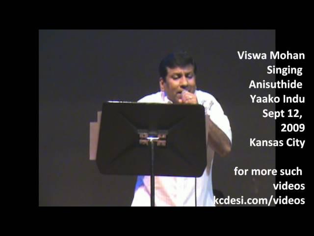 Viswamohan Sings Anisuthide Yaako Indu-Mungaru Male