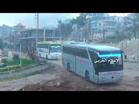 Zabadani: the last rebels leave