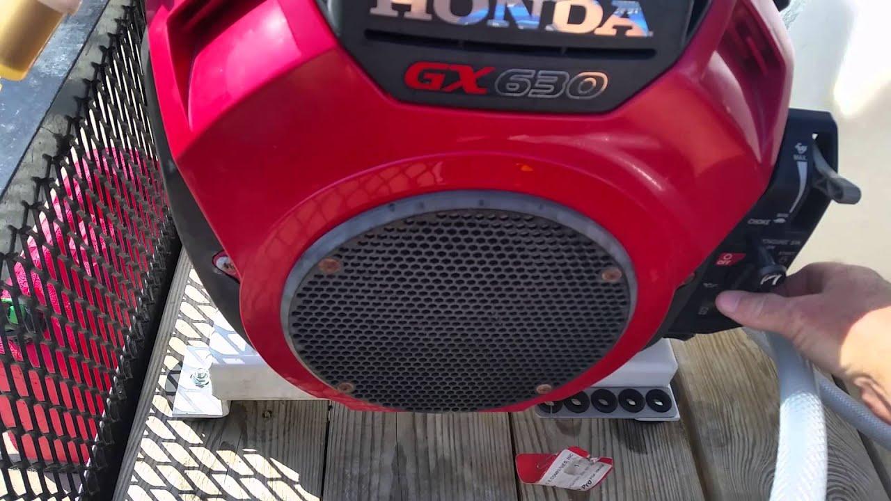 Honda Gx630 Starting Troubles YouTube – Honda Gx630 Wire Diagram