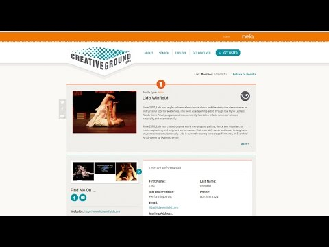 How to Use CreativeGround as a Performing Artist