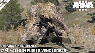 TAC-OPS | CAMPAÑA SINGLE | SNIPER - FURIAS VENGADORAS #4 | DLC ArmA 3 Gameplay Español (1440p60HD)