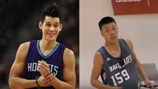 Jeremy Lin Playing with HIGH SCHOOLERS!?