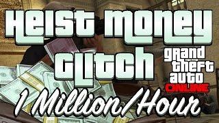 GTA V Online - 2016 Heist Money Glitch (Fast Way To Make Millions Online)