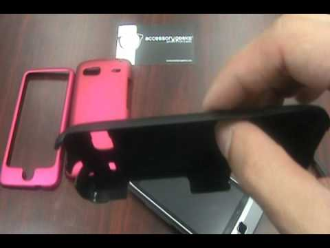 AccessoryGeeks: T-Mobile G2 Rubberized Hard Plastic Case Overview