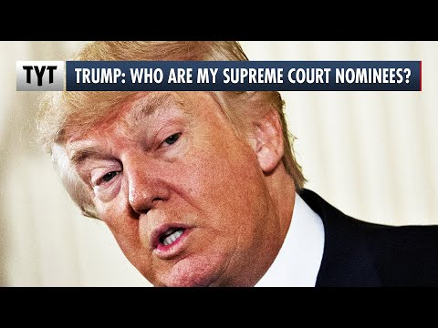 Trump CAN'T REMEMBER His Supreme Court Nominees