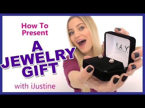 How to Present a Jewelry Gift with iJustine