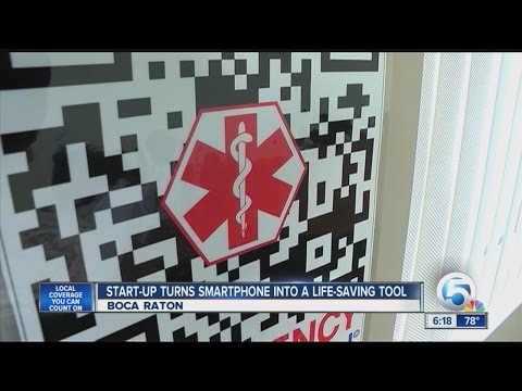 Boca Raton start-up using QR Codes to save you in an emergency