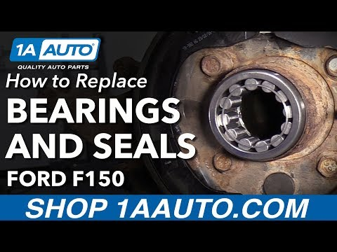 How To Replace Rear Axle Seals and Bearings 98-13 Ford F150
