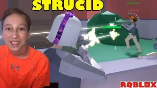 FORTNITE IN ROBLOX? STRUCID ROBLOX GAMEPLAY | CollinTV Gaming