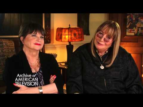"""Cindy Williams & Penny Marshall on working with """"Lenny and Squiggy"""" - EMMYTVLEGENDS.ORG"""