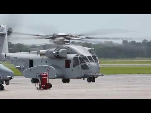 USMC *First CH-53K KING STALLION Heavy Lift Helicopter arrives for testing & evaluation