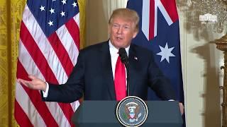 Trump gets asked on Jared Kushner