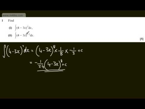 q1 Core 3 C3 OCR June 2013   A2 Past maths paper   Exam   mathematics solutions
