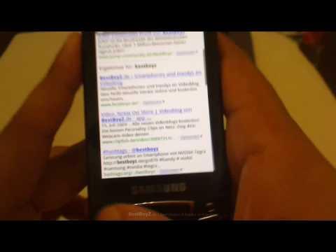 (HD) Samsung GT-I7500 Galaxy Teil 2 | Videoblog von BestBoyZ.de