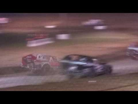 Super Dirt Car Series Race @ Albany-Saratoga Speedway on 6/27/17.. - dirt track racing video image