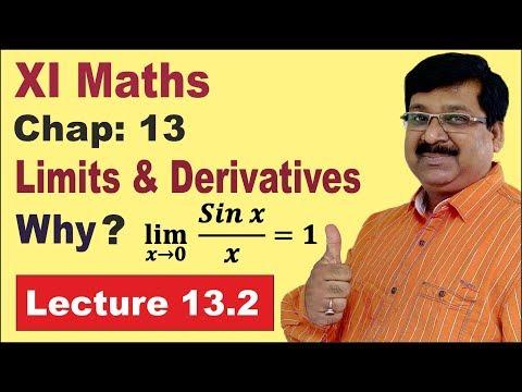 NCERT XI Maths Chap-13.2  | Algebra of Limits | Sandwich Theorem | Limits | Derivatives |