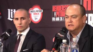 RORY MACDONALD JOINS BELLATOR & EXPLAINS FACTORS BEHIND THE SWITCH *FULL & UNCUT PRESS CONFERENCE*