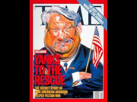 In 1995 America Secretly Colluded w/Boris Yeltsin To Trick Russians & Beat Communist Opponent