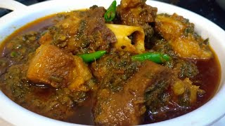 Palak Gosht Ki Mazedaar Recipe | Healthy And Tasty Palak Mutton Recipe