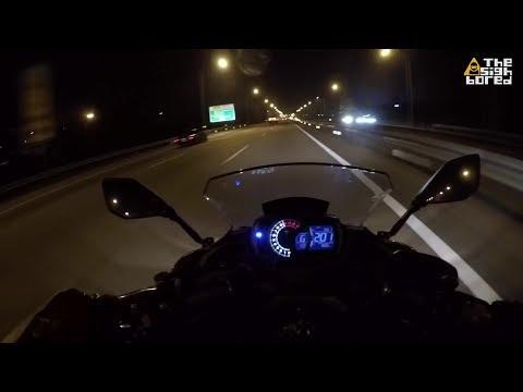 2018 Kawasaki Ninja 650 top speed
