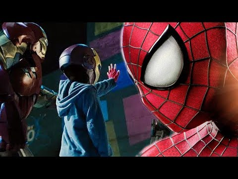 YOUNG PETER PARKER EXPLAINED - SPIDERMAN SEEN IN IRON MAN 2