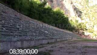 0245 The Pythian Games stadium at Delphi, Greece