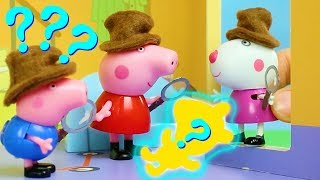 Peppa Pig Official Channel 🐻 Peppa Pig Stop Motion: The Mystery of Missing Teddy