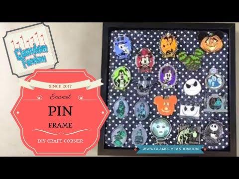 Enamel Pin Frame - YouTube