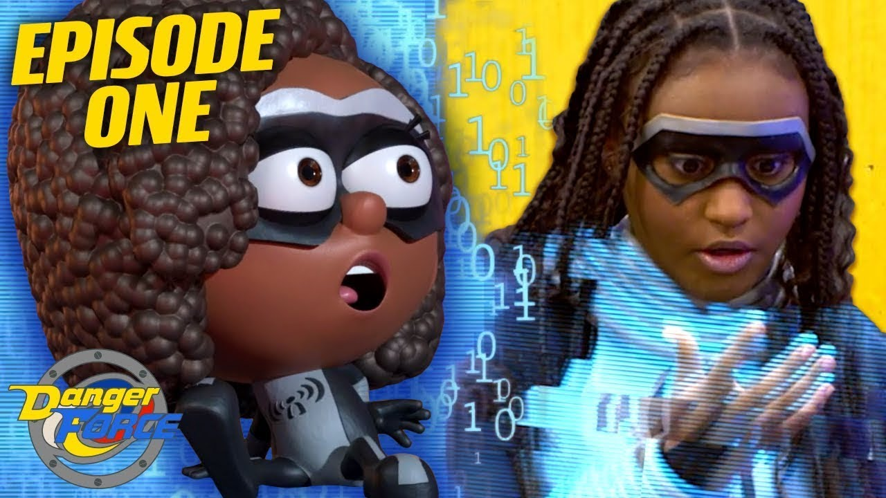 Download They Turned Into Cartoons! 'Danger Goes Digital' Ep.1 | Danger Force