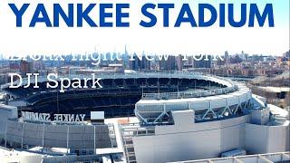 Drone Flight Yankee Stadium Bronx New York