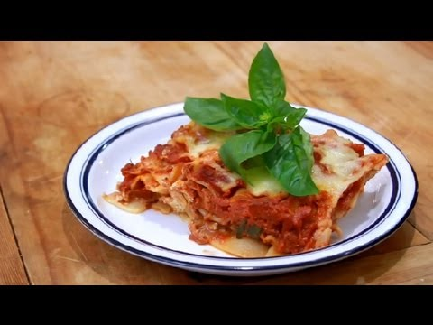 How To Cook Meatless Lasagna : Vegetarian Dishes To Please Meat Eaters