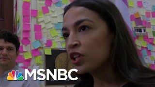 Ocasio-Cortez: Donald Trump Relies On Racism, Division To Consolidate Power | Craig Melvin | MSNBC