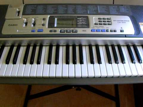 Casio LK-100 Demo - YouTube