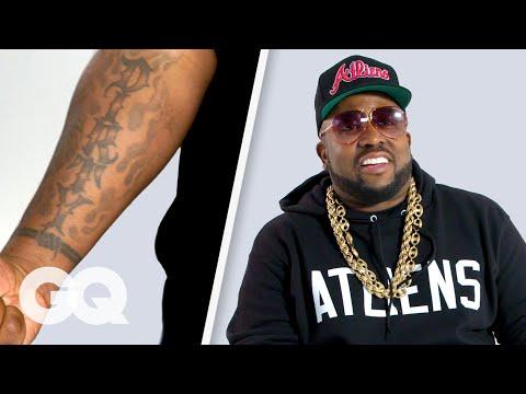 Outkast's Big Boi Breaks Down His Tattoos | GQ