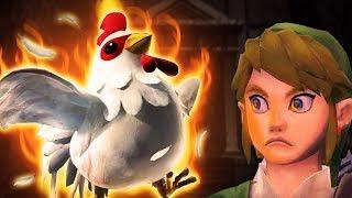 Which Cucco is the DEADLIEST in Zelda games? (Ranking the Cuccos from Legend of Zelda)