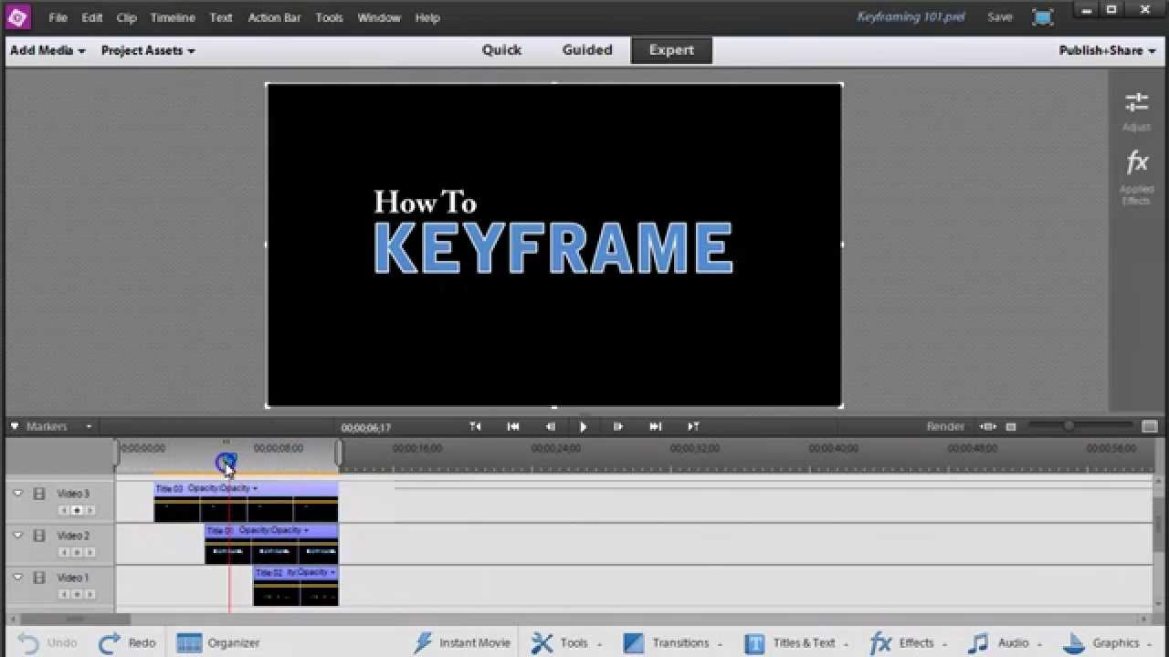 opentoonz how to add key frames
