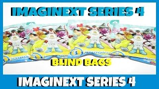 IMAGINEXT SERIES 4 BLIND BAGS WITH CODES