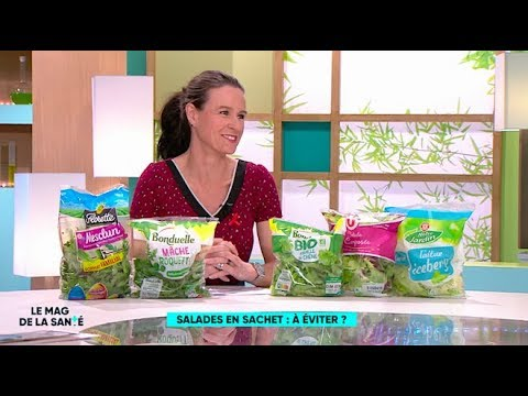 Faut-il éviter les salades en sachets : mâche, laitue, roquette