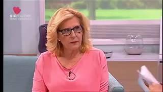 Maria Helena no programa Faz Sentido da Sic Mulher, com Ana Rita Clara