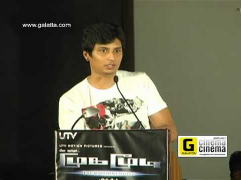 Jiiva Talks at Mugamoodi Press Meet